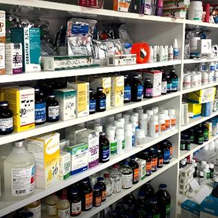 Diverse medicamente de uz veterinar